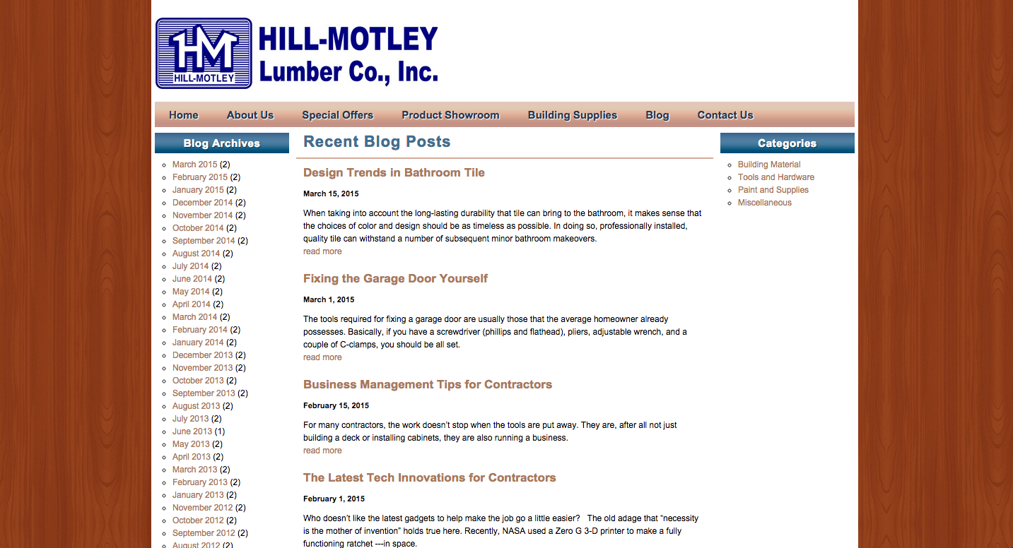 Why No One Cares About Your Building Materials Blog Motley