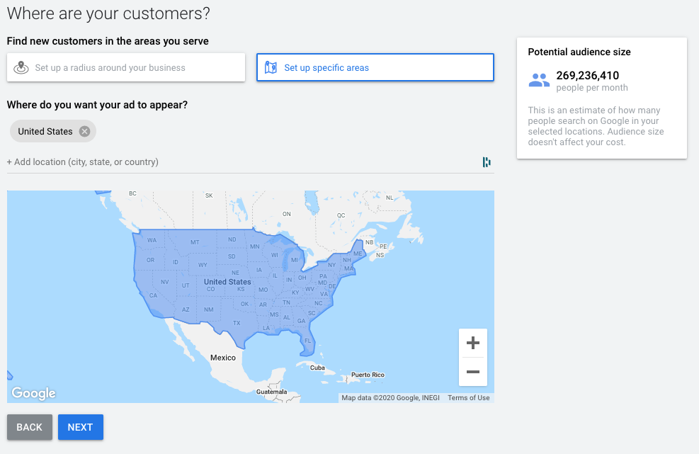 Where Are Your Customers Google Ads