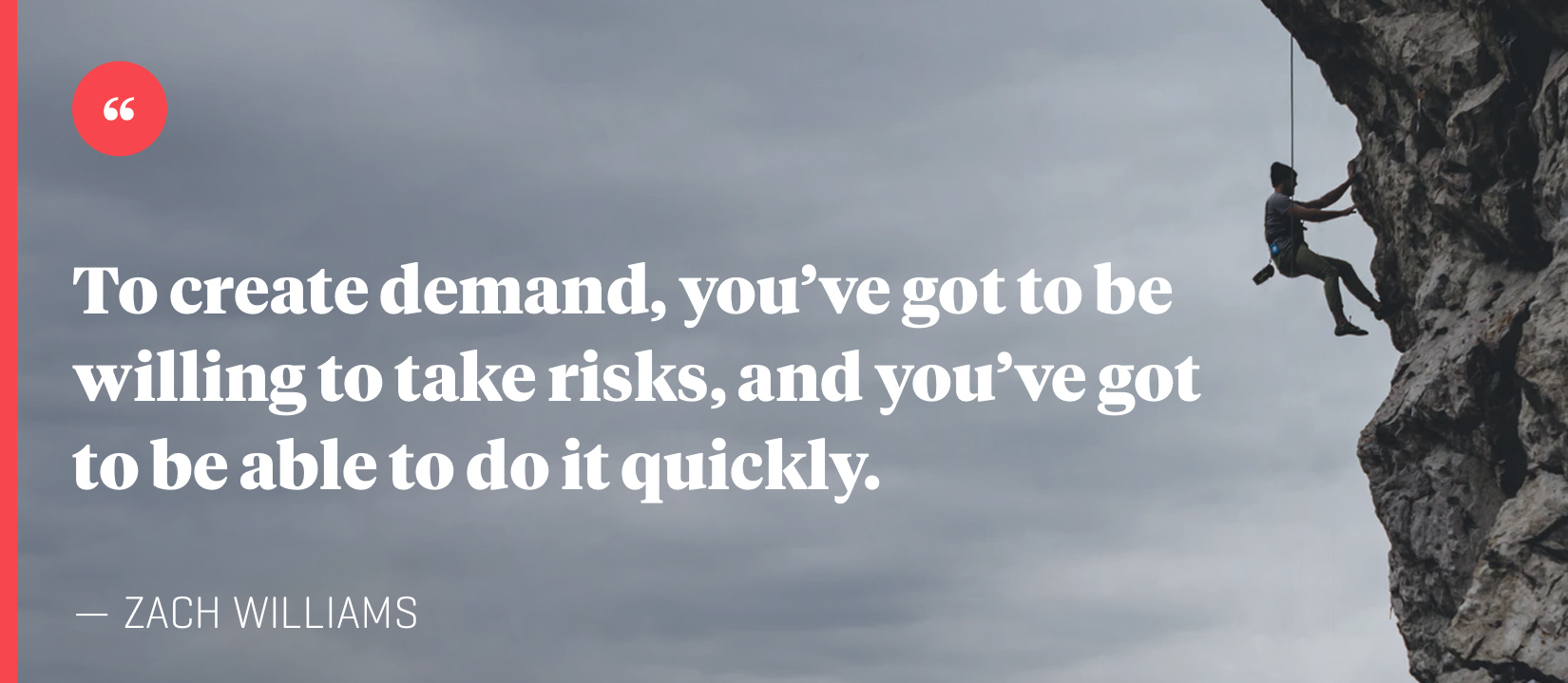 040 Create Demand Take Risks Quote
